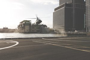 Tax relief on travel for business - a helicopter landing