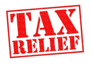 tax loss relief on property
