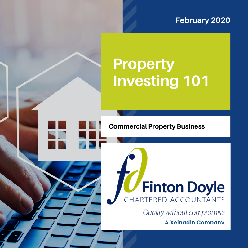 commercial property business - Finton Doyle Property Investing 101 logo