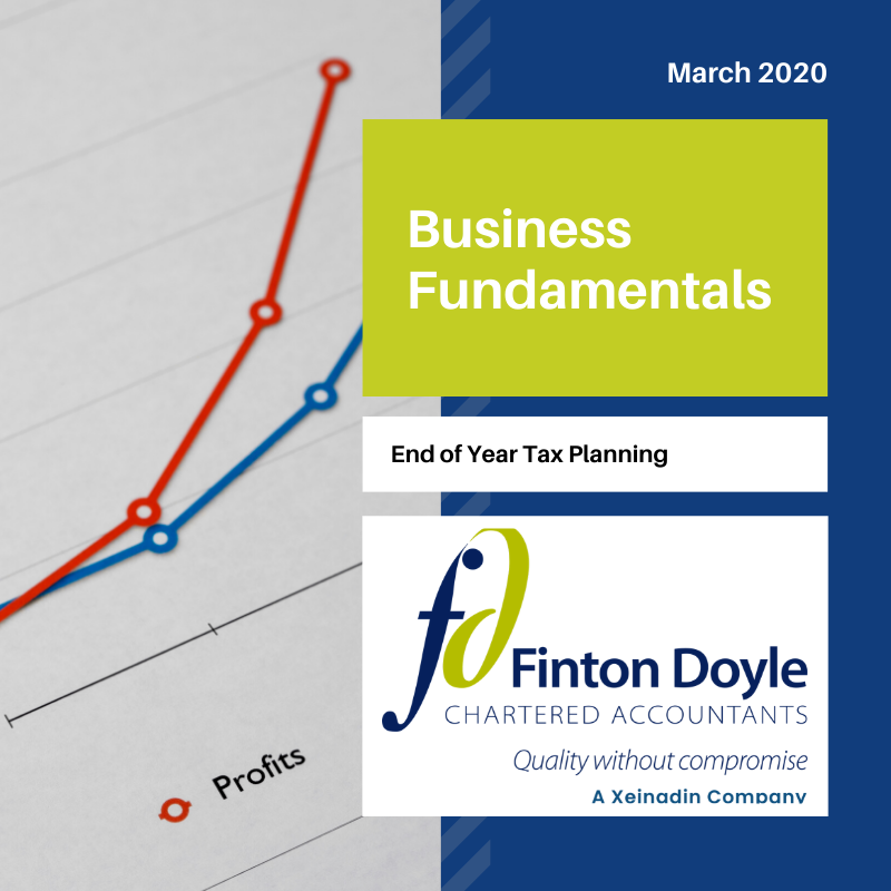 End of Year Tax Planning - Finton Doyle Business Fundamentals logo