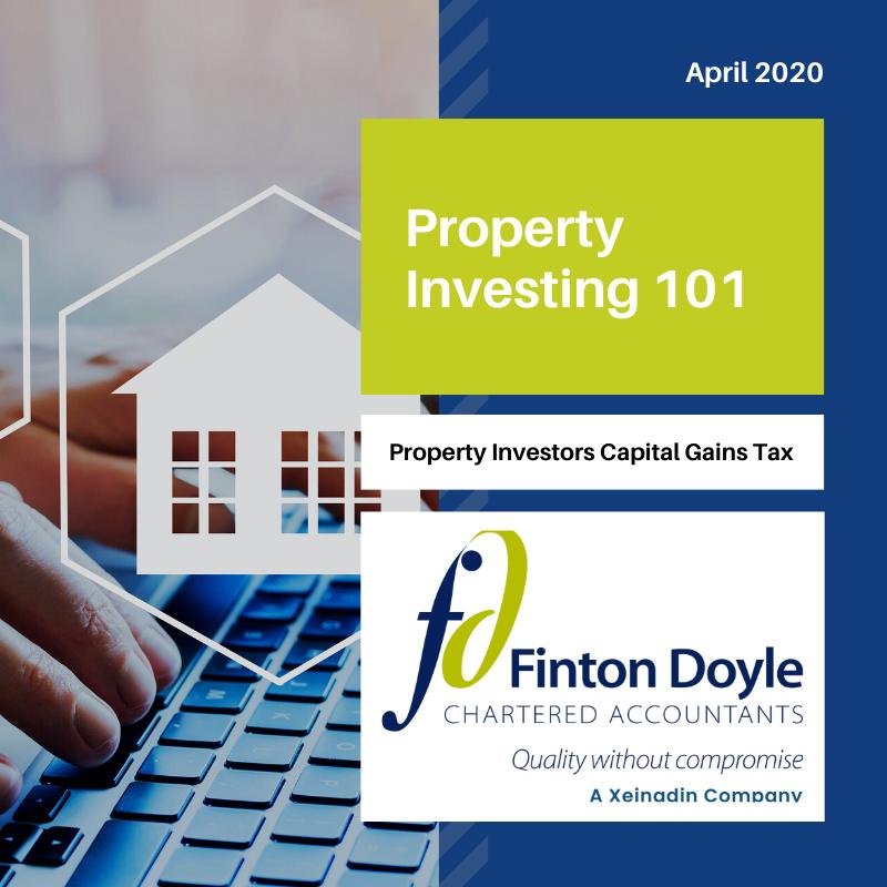 Property Investors and Capital Gains Tax