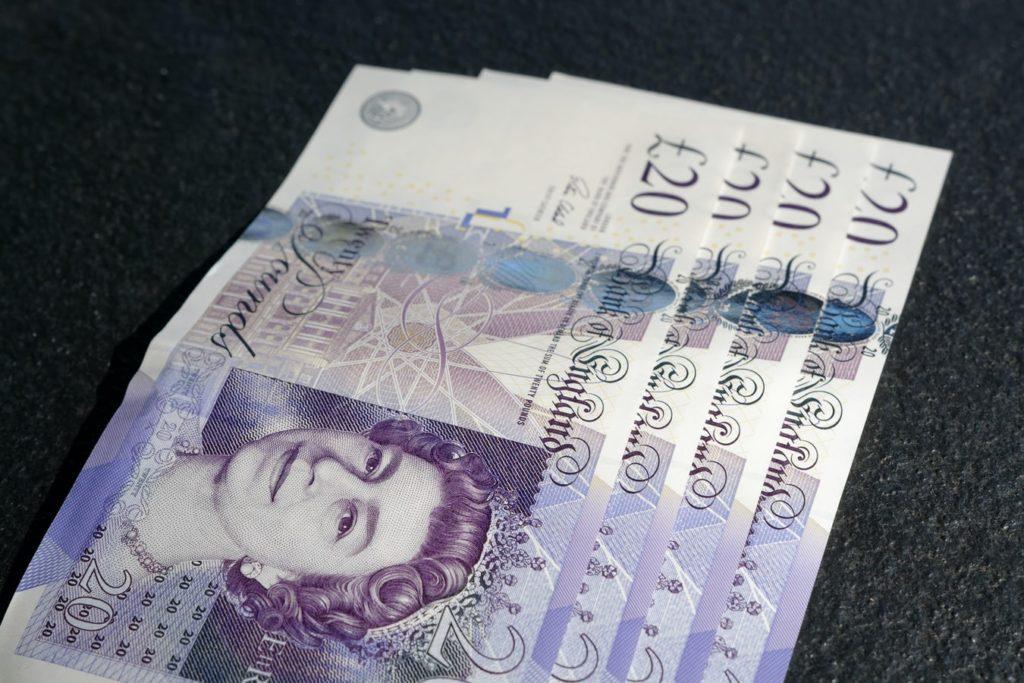coronavirus financial aid - pounds sterling