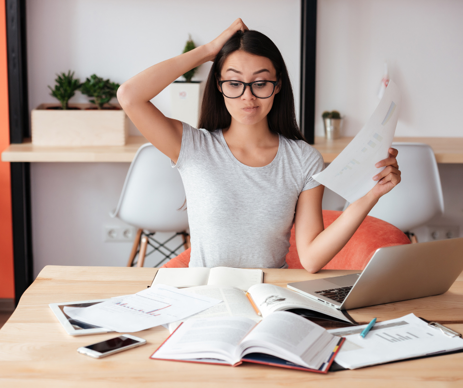 Buy-to-sell or buy-to-let: image of confused woman